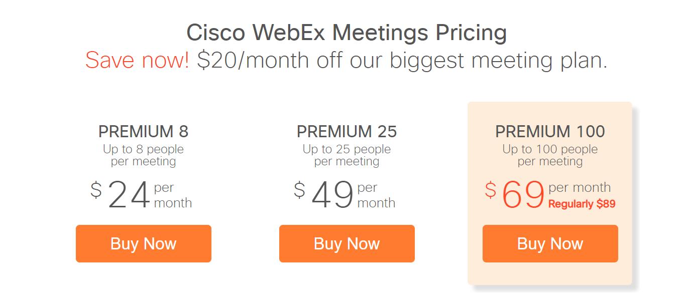 Webex Join meeting - Webex Teams and Webex Meeting login