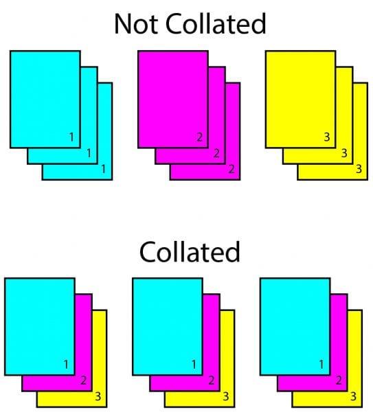 collate printing